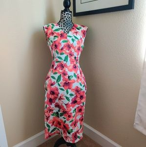 Calvin Klein floral dress size 8